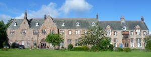 This is the 'Guthrie School for Boys' which moved from Castle Hill to Liberton in 1887.  It is now a care home for older people.
