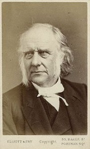 An often used photo of Guthrie around the time he was Moderator of the Free Church in 1862.