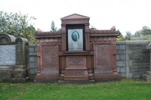 Dr Thomas Guthrie's grave in the Grange Cemetery, Edinburgh.